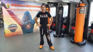 Bear Hug Closing Points Krav Maga Orange Belt