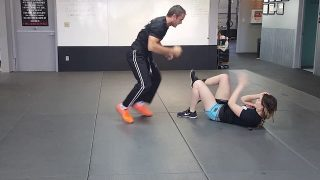 Trap And Roll  Krav Maga Orange Belt