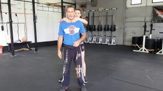 Krav Maga Choke From Behind