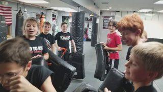 RMSDF Kids Krav Maga Class Nov 2017