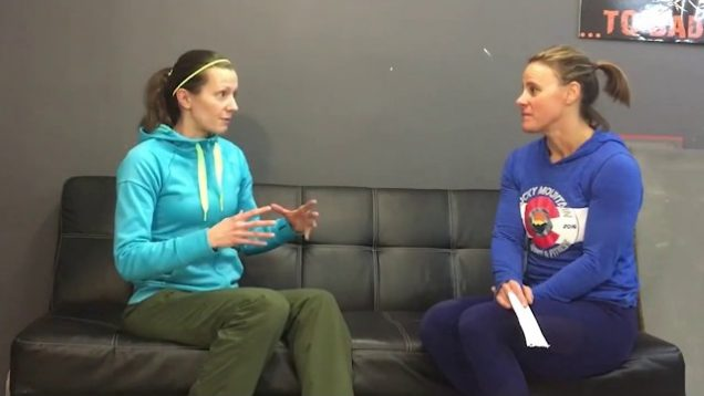 Mountain CrossFit Jenny & Marketa Talk Crossfit Clips 2 In Castle Rock Colorado