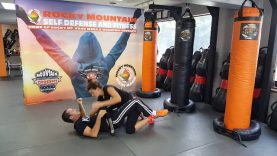 Side Elbow Escape Krav Maga Orange Belt