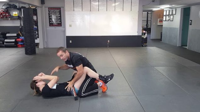 Headlock While Mounted Krav Maga Orange Belt